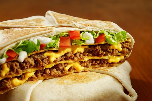 A mexican gordita crunch 10