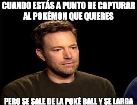 Pokémon GO es un juego de emociones fuertes.