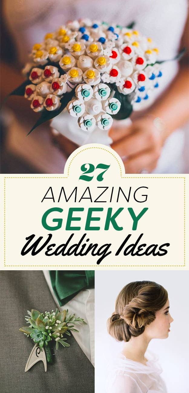 27 Nerdtastic Wedding Ideas Youll Majorly Geek Out Over