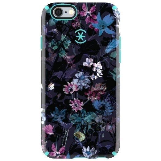 This Speck case with hard-coated, vibrant pixie florals for iPhone 6 and 6s.