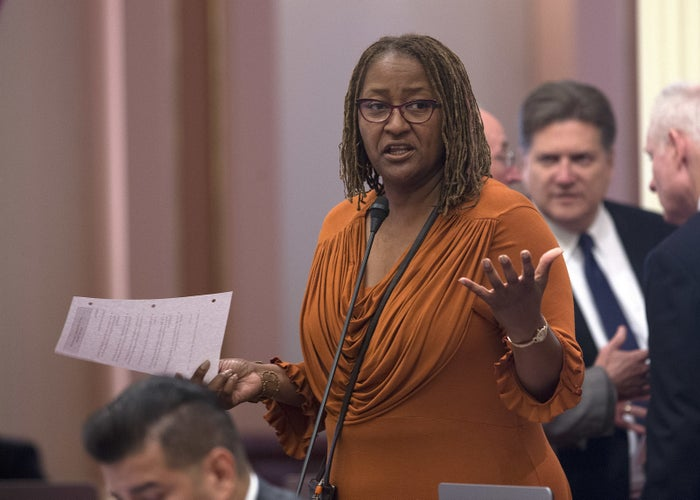 State Sen. Holly Mitchell, D-Los Angeles