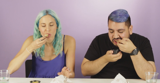 Hi everyone, Lara and Pablo here, and we love eating garbage. We recently asked the BuzzFeed Community to hit us with their best Taco Bell menu hacks.