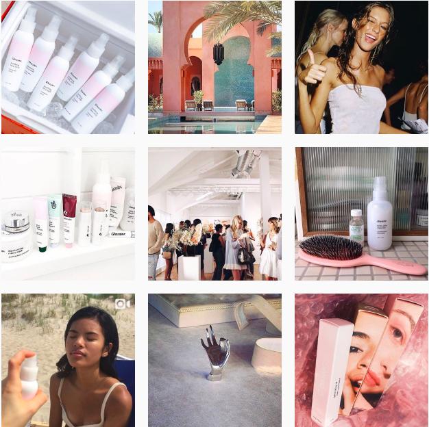 Instagram Glossier