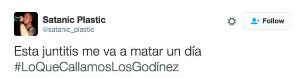 La juntitis es una enfermedad real que ataca al 99% de la población Godínez.