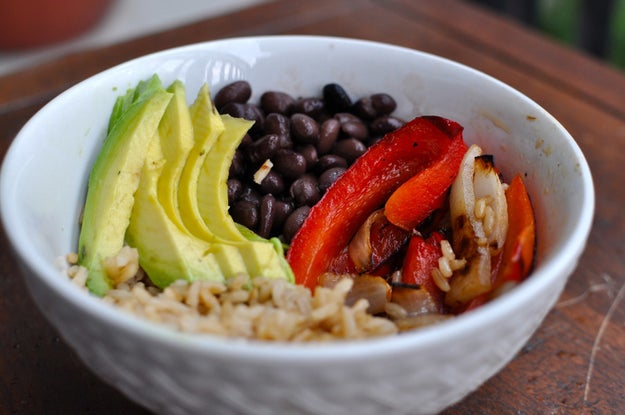 4. Thursday: Black Bean and Brown Rice Bowl