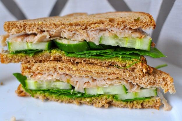 3. Wednesday: Smashed White Bean Sandwich