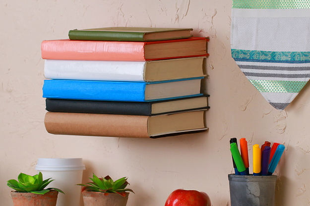Make Magic With This Diy Floating Bookshelf