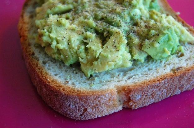 7. Sunday: Avocado Toast