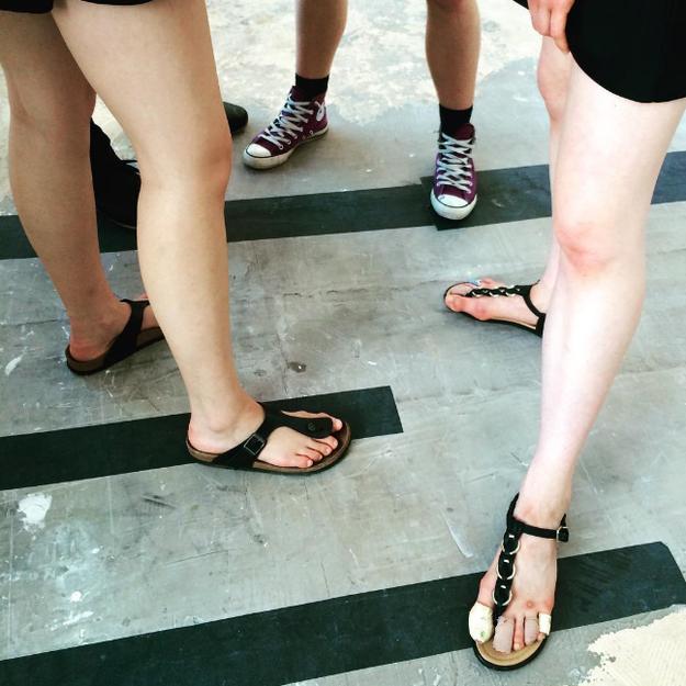 Olvídate de usar sandalias si alguna vez te dedicas al ballet.
