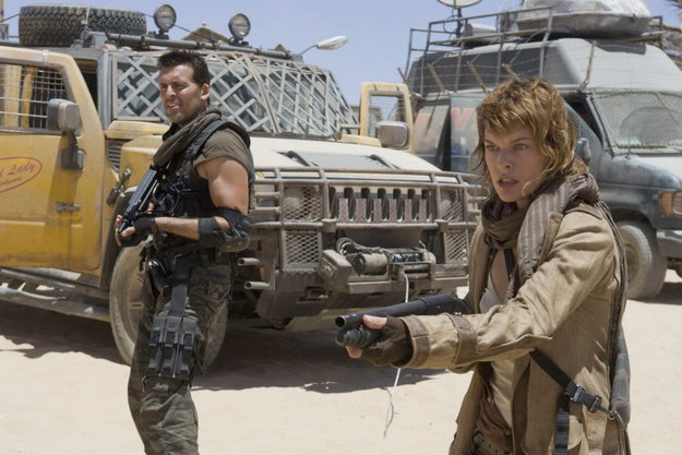 Resident Evil: Extinción, 2007