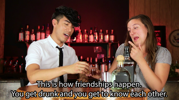 These Friends Tried To Do Each Other's Makeup While Drunk And Gave Us Friendship Goals
