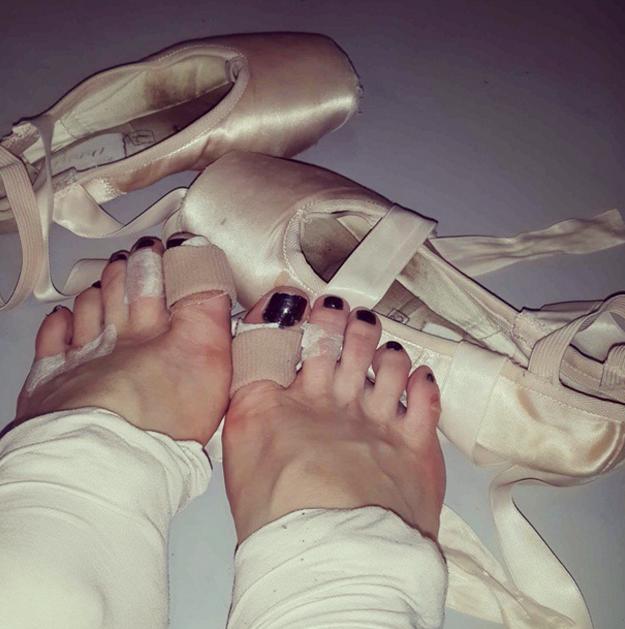 Porque tus pies se van a convertir en la viva muestra de todo el esfuerzo.