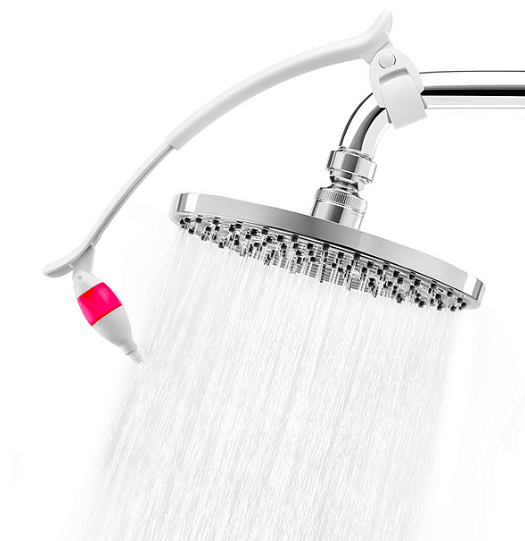 An aromatherapy shower head that'll prepare you for the day ahead.