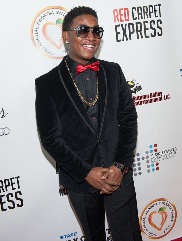 "This is Yung Joc. He's currently one of the stars on the VH1 reality show Love & Hip-Hop: Atlanta, but he's most known for blessing the world with the 2006 hit song ""It's Goin' Down."""