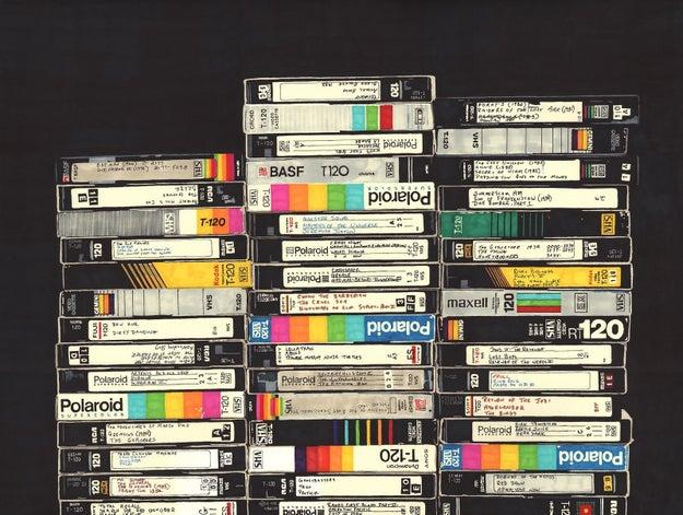 Los recuerdos de tu infancia no están guardados en el carrete de un teléfono, sino en un chingo de Betas y VHSes.