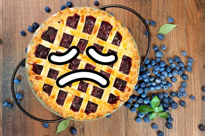 *At least, I think this is true based on a casual pie-related conversation I had with a group of coworkers, where three different people from different states revealed that they had never heard of blueberry pie before.