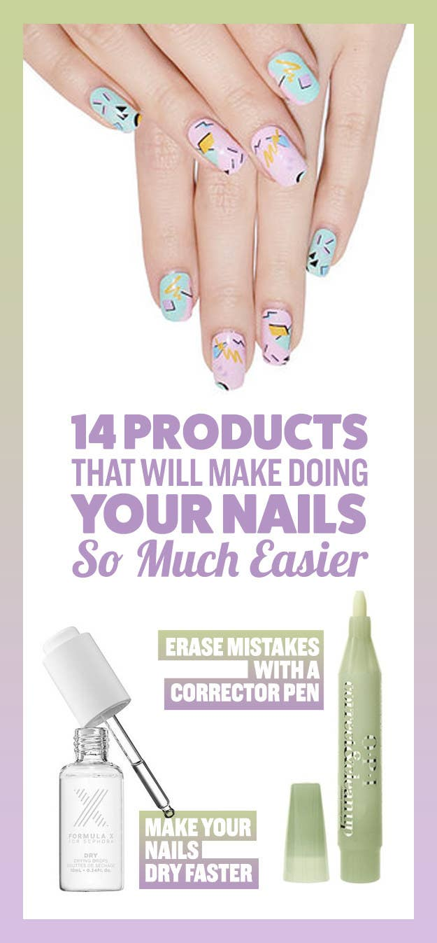 14 Game-Changing Products For Anyone Who Sucks At Doing Their Nails