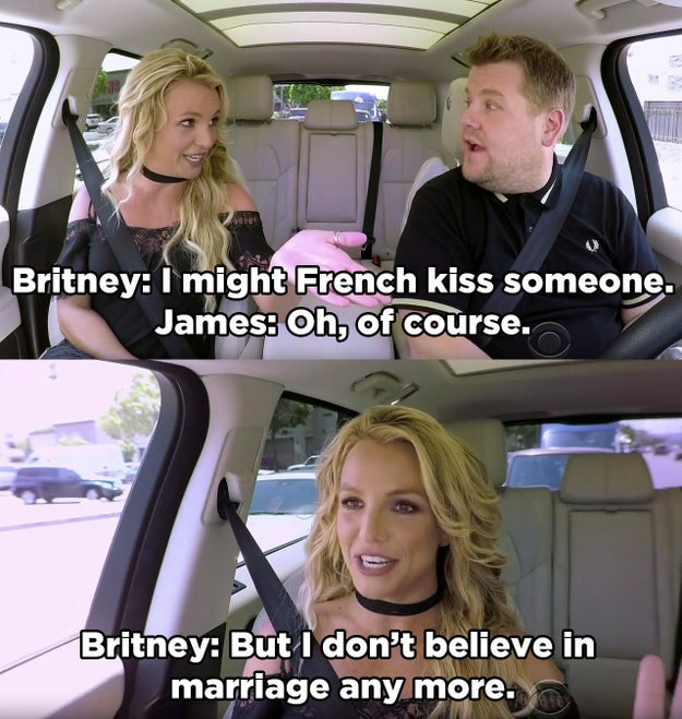 """Britney Is The Latest """"Carpool Karaoke"""" Guest And It's"""