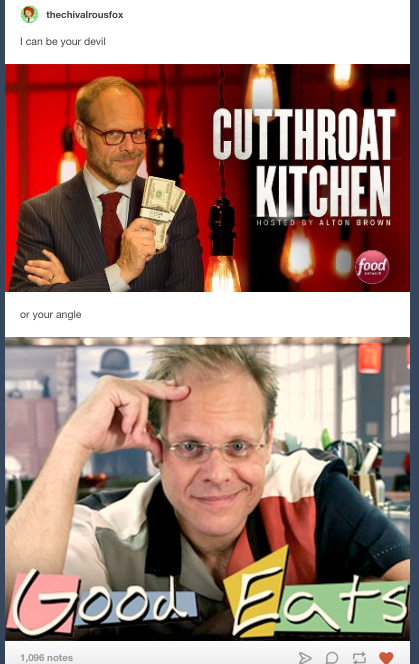 """22 """"Cutthroat Kitchen"""" Tumblr Posts That'll Make You Pee Your Pants"""