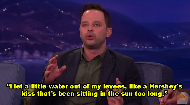 Nick Kroll's chocolate surprise: