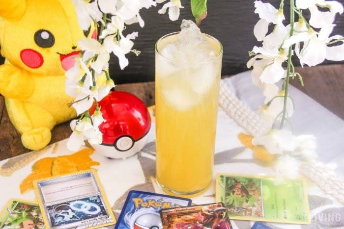 You just need to try this Pineapple Pikachu Daiquiri from Simplistically Living. Seriously. It's sweet and has a real kick. You'll be hooked after one sip.