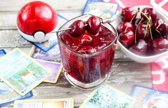 Have you picked your team yet? Red, Yellow, or Blue? If you're on Team Valor you have to check out this yummy cocktail from Totally the Bomb!