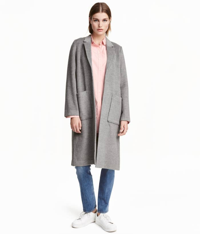 95fcda6045bc A knee-length felted coat that will look good with literally anything. hm .com