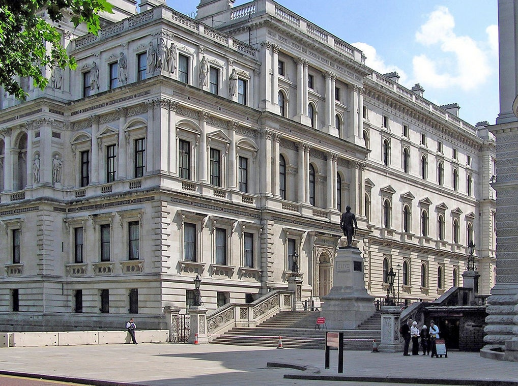 The Foreign Office.