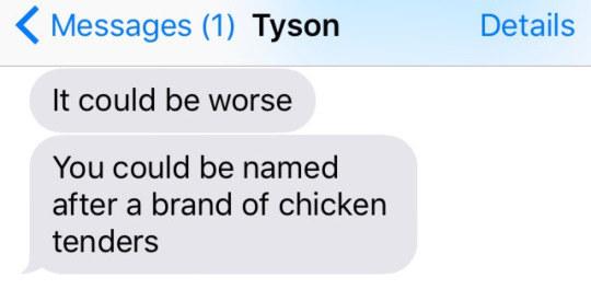 Tyson's dilemma:
