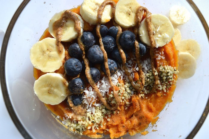 Sweet potatoes for breakfast is a thing starting... now. Recipe here.