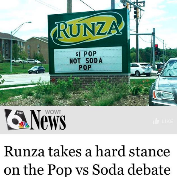 """What it usually means: A type of music.What it means in the Midwest: The most delicious drink in the world, incorrectly referred to as """"soda"""" or """"cola"""" elsewhere."""