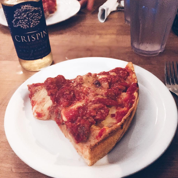 What it usually means: An Italian dish consisting of cheese, tomato sauce, various toppings, and a variety of crusts.What it means in the Midwest: An Italian dish consisting of cheese, tomato sauce, various toppings, and DEEP DISH CRUST OR GTFO.