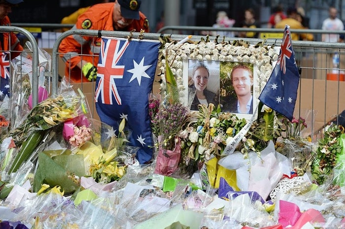 September 2014: An ISIS-inspired teen stabbed two police officers in Australia after reportedly having his passport revoked over concerns he would try to join the group.September 2014: Australian police arrested more than a dozen individuals in counterterrorism raids, including one who was reportedly in touch with an operative in Syria about planning a public beheading in SydneyDecember 2014: An Australian ISIS supporter took 17 people hostage in a downtown Sydney cafe. Three people died when police stormed the facility, including the suspect.February 2015: Australian police arrested two men for planning a public beheading in Sydney after discovering ISIS propaganda in their possession and a video detailing their plot.April 2015: Five Australian teens were arrested while planning a terrorist attack at an Anzac Day event in Melbourne. At least one of the suspects receivedinstructions from an ISIS operative in Syria.April 2016: A teenager communicating with an overseas ISIS operative was arrested for attempting to purchase a firearm in order to conduct a terrorist attack on Anzac Day.May 2016: An 18-year old was arrested and charged with planning to launch a terrorist attack in Sydney, in addition to attempting to join ISIS in Syria.