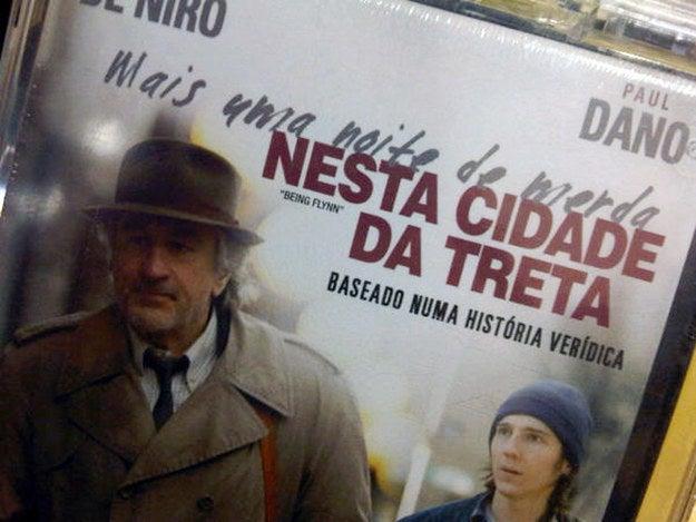 """Este é o título do filme, de 2012, em Portugal. No Brasil, virou """"A Família Flynn""""."""