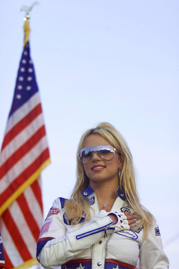 And when she was proud to be an American.