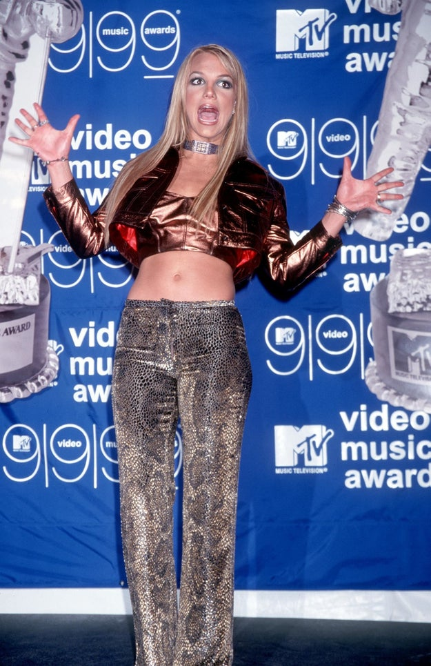 When she served some metallic realness.