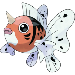 And Seaking is just a grown-up, pissed off Goldeen.