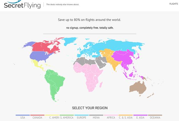 Ten páginas como SecretFlying y Fly4free entre tus favoritas para monitorear vuelos al menor precio.