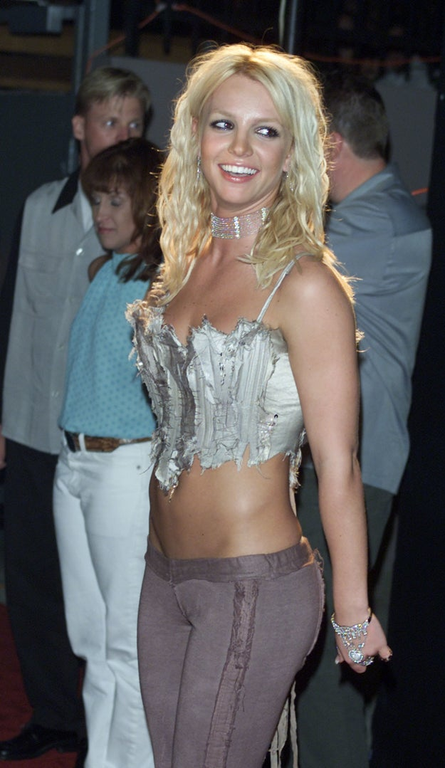 When her corset was obviously ruined by some sort of wild dog.