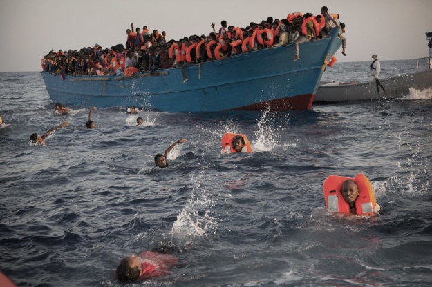 The majority of those rescued in a total of 40 different operations were not Syrian — they were mostly from African nations. This is one of the things that has changed since last summer when the refugee crisis appeared to be at its peak.