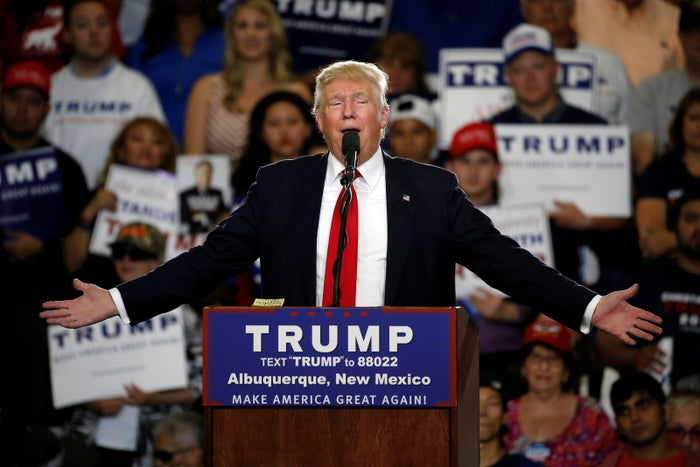 """Throughout his campaign, Trump has made incendiary comments about Mexican immigrants in the US, referring to them as """"rapists"""" and """"criminals."""""""
