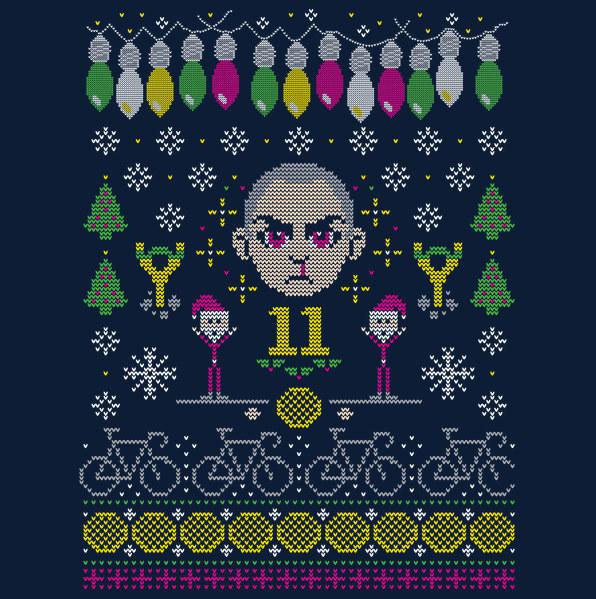 Tu look navideño será infinitamente más cool con este suéter y lo sabes ($674).
