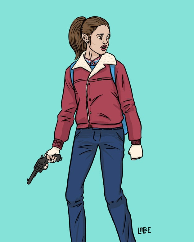 Si te identificaste con Nancy, esta ilustración es para ti ($154).