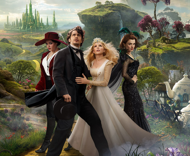 Oz The Great and Powerful.