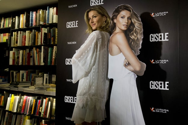 What's crazy is that Gisele officially retired from the catwalk last year and is still raking in the dough.
