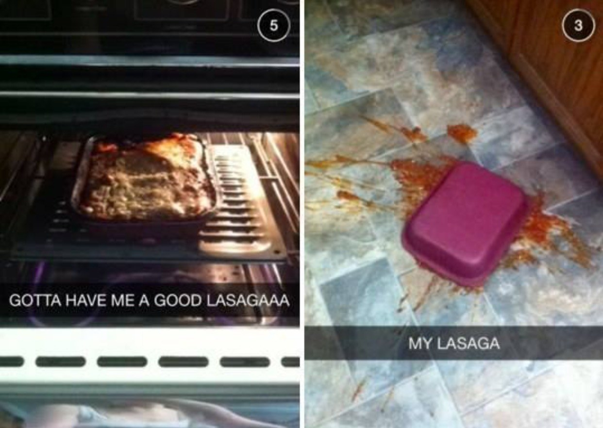 27 Times People And Food Didn't Mix