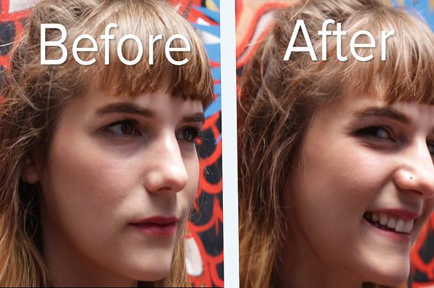 Facial piercing photo