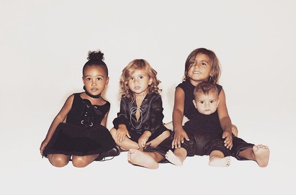 And you might know that Kourtney has three kids of her own: Mason, Penelope, and Reign.