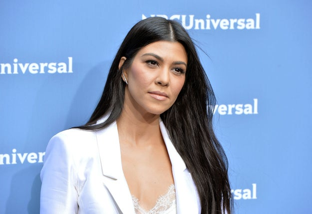 You might know Kourtney Kardashian, eldest daughter of Kris Jenner and Robert Kardashian.