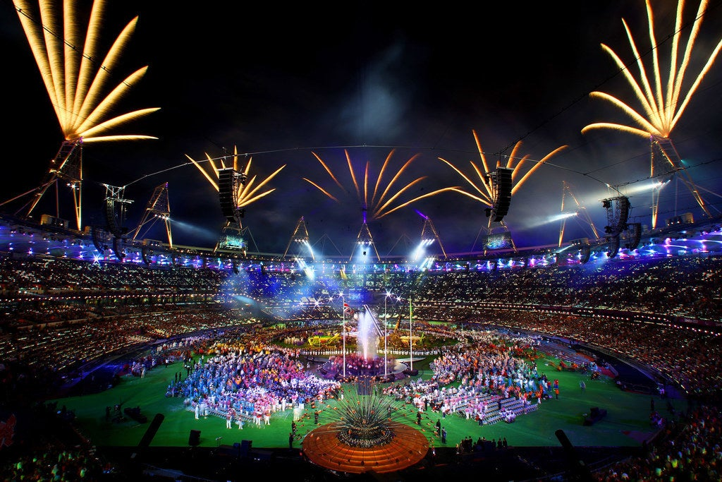 The closing ceremony of the London 2012 Paralympic Games.